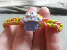 A perfect treat for the sweet child in your life! Multicolor Fishtail Rainbow Loom Bracelet with by RainbowLoomLover, $4.50