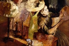The Millinery Shop painting by Edgar Degas, rendition Edgar Degas Artwork, Shop, Painting, Painting Art, Paintings, Painted Canvas, Drawings, Store