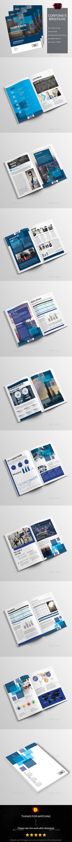 Corporate Brochure Template InDesign INDD Download here   - company brochure templates