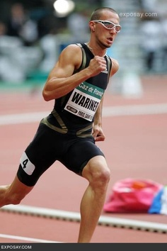 Jeremy Wariner. Fast White guy. Gives me hope.