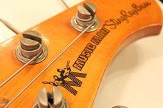 """MUSIC MAN 1977 Sting Ray Bass """"White Finish"""""""