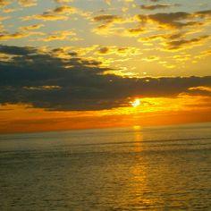 Sorrento Sunset in Italia