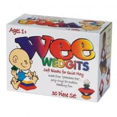 Wee Wedgits 30-Piece Building Block Set $52.59