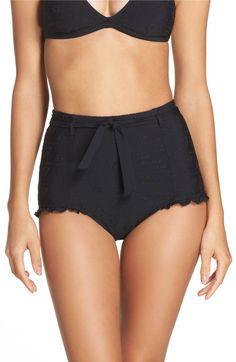 Main Image - Seafolly Lola Rae High Waist Bikini Bottoms