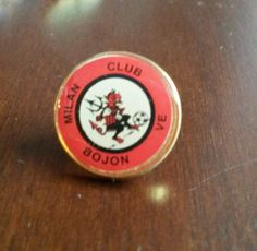 Spilla distintivo MILAN CLUB BOJON VENEZIA calcio pin football badge