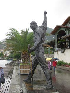Montreux, Switzerland. (with Freddie Mercury.)