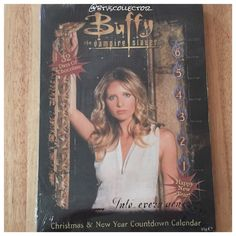 2002 Buffy the Vampire Slayer Advent Calendar.  #btvs #buffy #buffythevampireslayer #btvscollector
