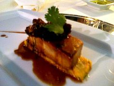 Tuna Tarantella - a tuna & clam mousse with onion compote at the Panorama Restauurant #Lisbon