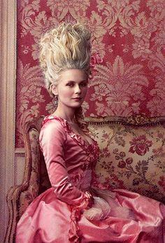 Kristen Dunst as Marie Antoinette - gorgeous!