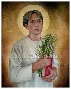 Saint Pedro Calungsod  c. 1655 - 1672  Feast day: April 2  Patronage: Filipino youth, Catechumens, altar boys, the Philippines