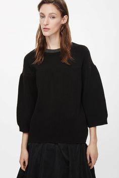 COS | Contrast chunky-knit jumper