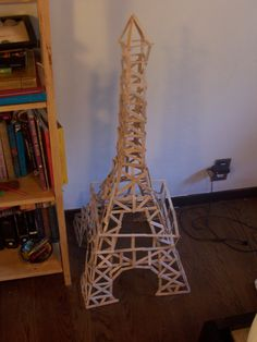 Popsicle stick tower