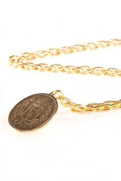 Coin Pendant Chain Link Necklace By Hendrikka Waage. #Icelandic #Fashion #Style #Lastashop