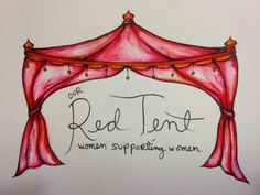 Red Tent sign inspiration