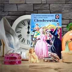 Personalised Ladybird Cinderella Story Book Everyone remembers growing up with classic Ladybird pocket-sized books and now they can be passed to the next generation. Ladybird's well-loved tale has been brilliantly adapted to include a child's name seamlessly integrated into each of the original illustrations. The story of Cinderella has been perfectly personalised to also include a message on the opening page, making this the perfect gift for little ones.  #ladybirdbooks #persoanlisedbooks