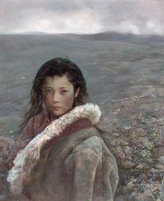 """艾軒 (Ai Xuan), """"Girl in the Wind"""""""