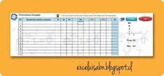 ExceLuisABN Matemática y Excel: Gestión de notas, por asignatura.