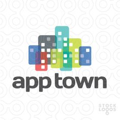 """buildings with an urban look, with """"windows"""" (or apps) (district, town, skyline, quarter, block, house, windows, exterior, tall buildings, apartments, home, homes, building, smart phone, exterior, skyline)"""