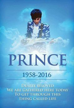 Prince..he never planned on dying....he just wanted the pain to stop!