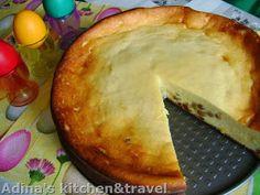 Adina's kitchen & travel: Cheesecake in stil german sau pasca fara aluat Gordon Ramsay, Pinterest Recipes, Cheesecake, Easy Meals, Pie, Sweets, Desserts, Germania, Food