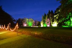 Light up the outside!   www.abbasmarquees.co.uk