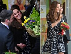 Kate Middleton, Duchess of Cambridge - Brookhill Children's Centre in London's Woolwich (March 18, 2015)