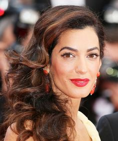 Get the Look: Celebrity Makeup and HairHow-Tos to Try - Amal Clooney's Old Hollywood Glamour - from InStyle.com