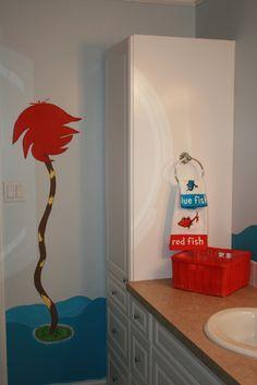 Dr. Seuss Bathroom Wall Mural