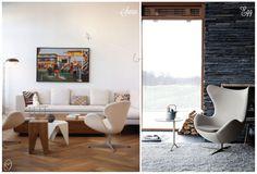 Poltrona Swan - Arne Jacobsen #decor #swan #jacobsen #poltrona #design #casadasamigas