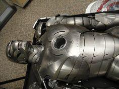 Captain America Prop Auction - Iron Man 2 armor (Doug Kline) Tags: costumes movie display auction armor studios marvel captainamerica props calabasas autopsy c2e2 profilesinhistory ironman2