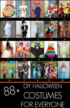 88+ DIY Halloween costume ideas for every age!