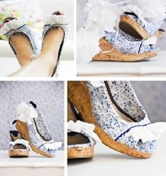 DIY crafts - shoe makeovers
