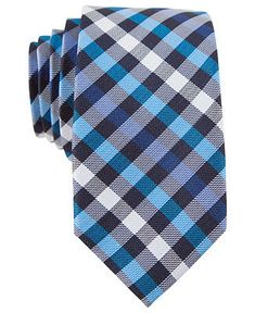 Penguin Tie, Odo Plaid Tie - Ties - Men - Macy's