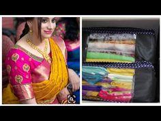 How do sarees organisation. 2 types of sarees organisation. మీరు ఇళ్లు మారుతునారా. ఐతే మీ చీరలు ఇలా - YouTube Tussar Silk Saree, Sari, Collection, Fashion, Saree, Moda, Fashion Styles, Fashion Illustrations, Saris