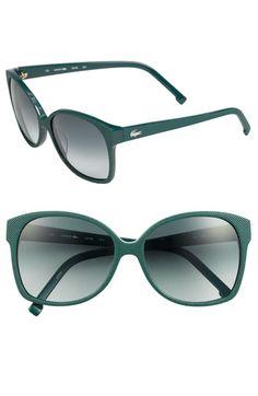 Lacoste Eyewear Piqué Textured Sunglasses $128