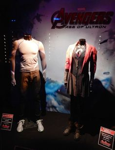 In Avengers: Age of Ultron not only are Earth's Mightiest Heroes assembled once again, but they are also joined by a few new additions to . Scarlet Witch Costume, Scarlet Witch Marvel, Witch Costumes, Movie Costumes, Cosplay Costumes, Super Hero Outfits, Super Hero Costumes, Marvel 3, Marvel Universe