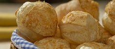 Receita de pão de queijo light da Lucilia - Lucilia Diniz