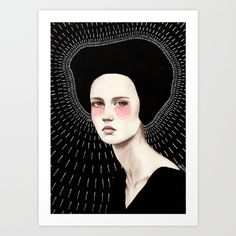 Buy Freda Art Print by Sofia Bonati. Worldwide shipping available at Society6.com. Just one of millions of high quality products available.
