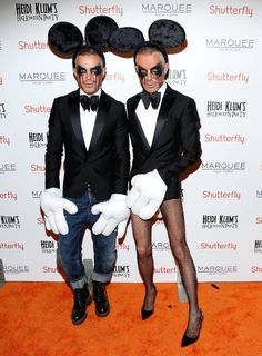 Click here to see the fashion world's best Halloween costumes!