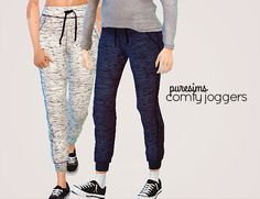 Comfy joggers at Puresims via Sims 4 Updates