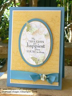 Happiest Thoughts by lincoln4460 - Cards and Paper Crafts at Splitcoaststampers