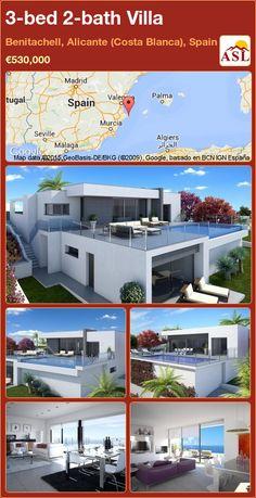 3-bed 2-bath Villa in Benitachell, Alicante (Costa Blanca), Spain ►€530,000 #PropertyForSaleInSpain