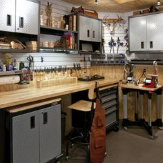 Traditional Workshop Design, Pictures, Remodel, Decor and Ideas