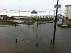 Hurricane Sandy - Sea Isle City