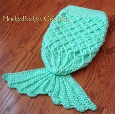 Crochet Mermaid Tail Pattern - Hodge Podge Crochet - I hate paying for patterns but this one might need to happen