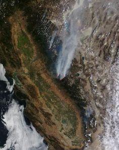 NASA: Rim Fire update Aug. 27, 2013