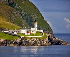 Beautiful lighthouse on Shetland Islands, a place with beautiful views in Scotland | 10 Reasons Why Scotland Must Be On Your Bucket List