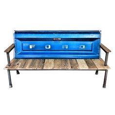 Harvey Blue Collar Bench III Ann Charles