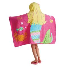 Mermaid Kids' Hooded Towel | Company Kids