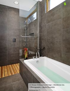 Open shower but no glass at all